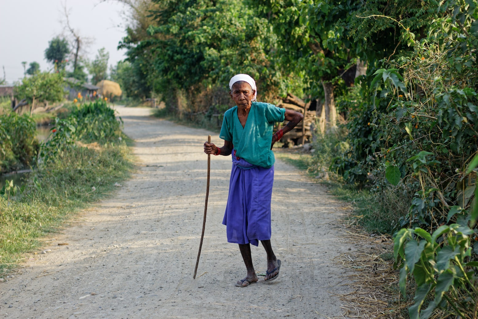 An Elderly Woman in Bardiya