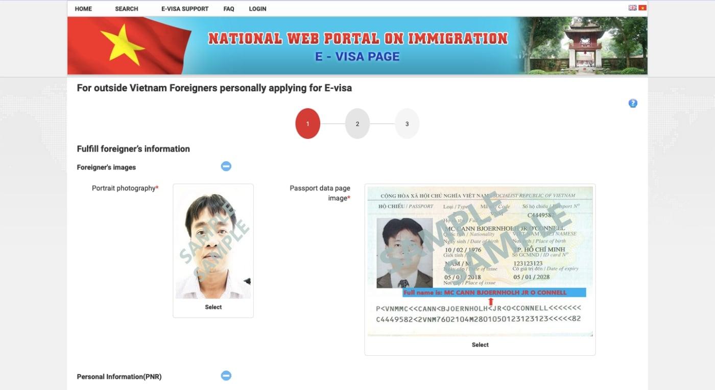 Official Vietnam eVisa Portal