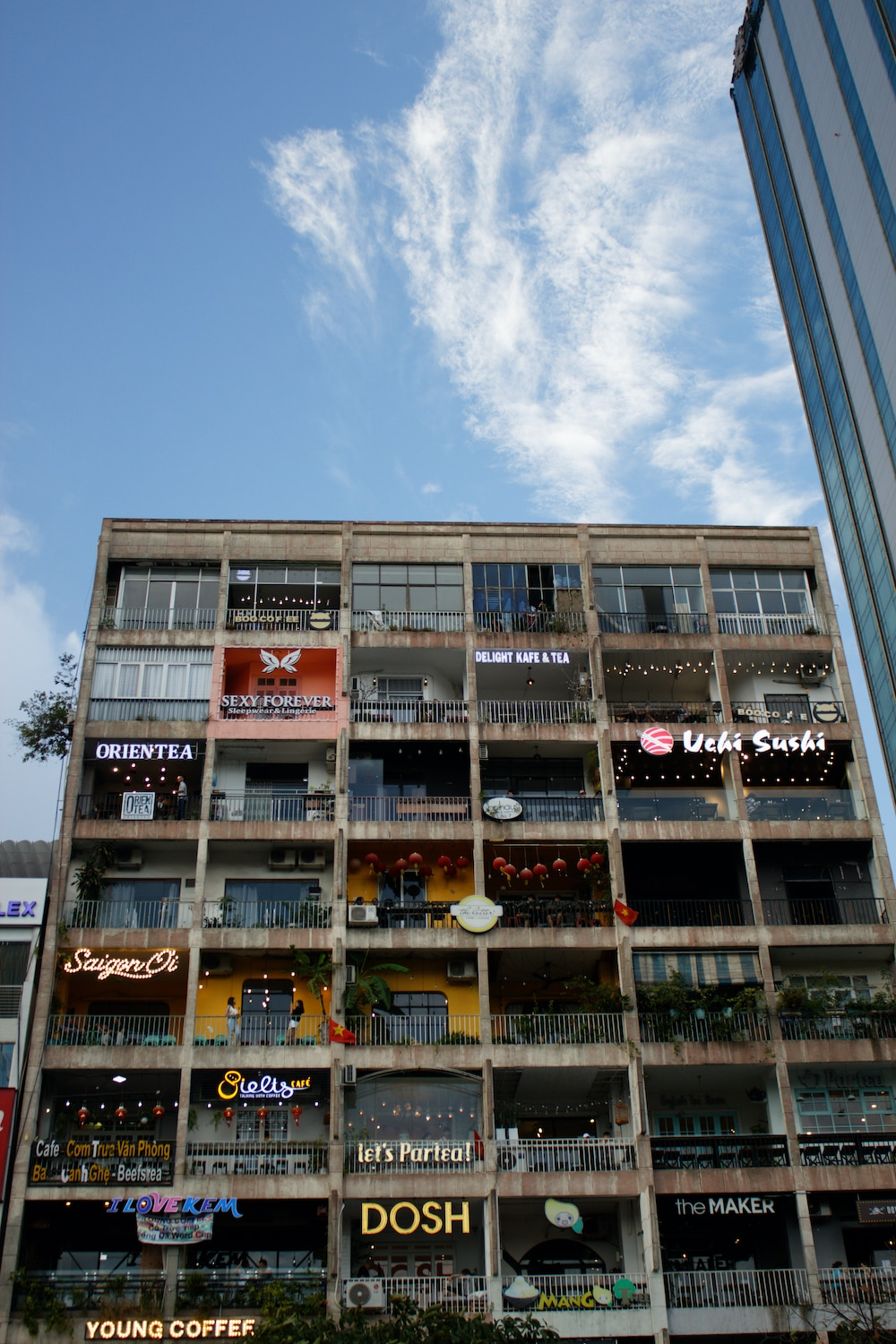 A commercial complex in Ho Chi Minh City