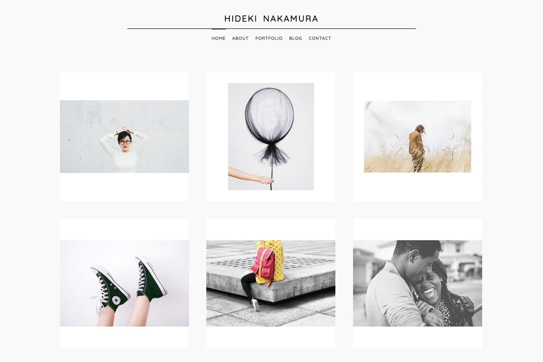 Nakamura - A beautiful WordPress Theme for Photographers