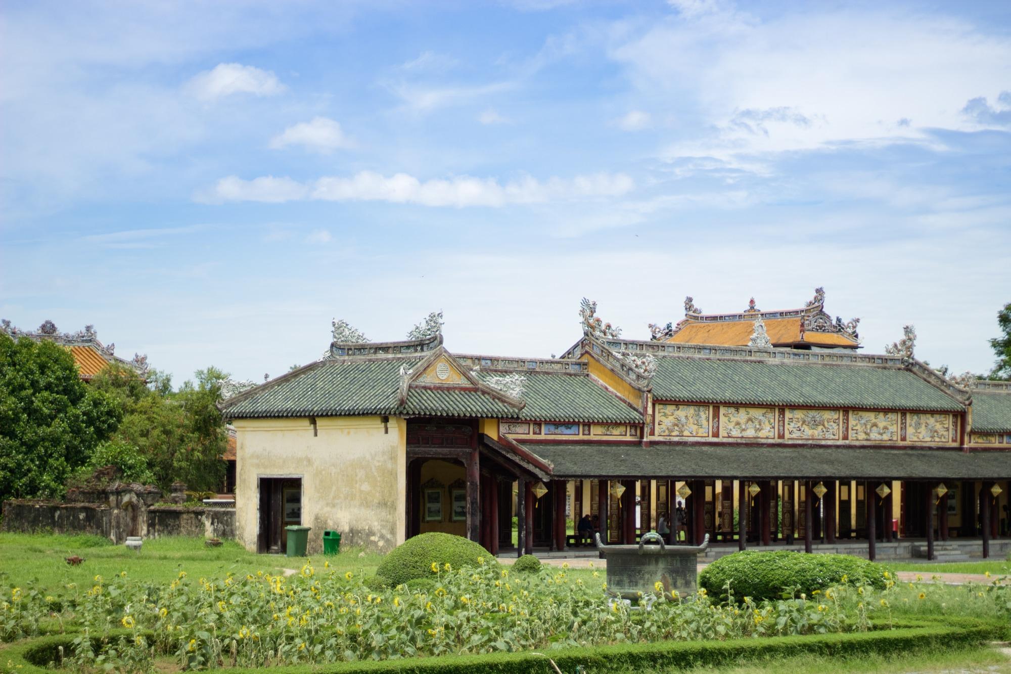 Inside Hue Ancient City