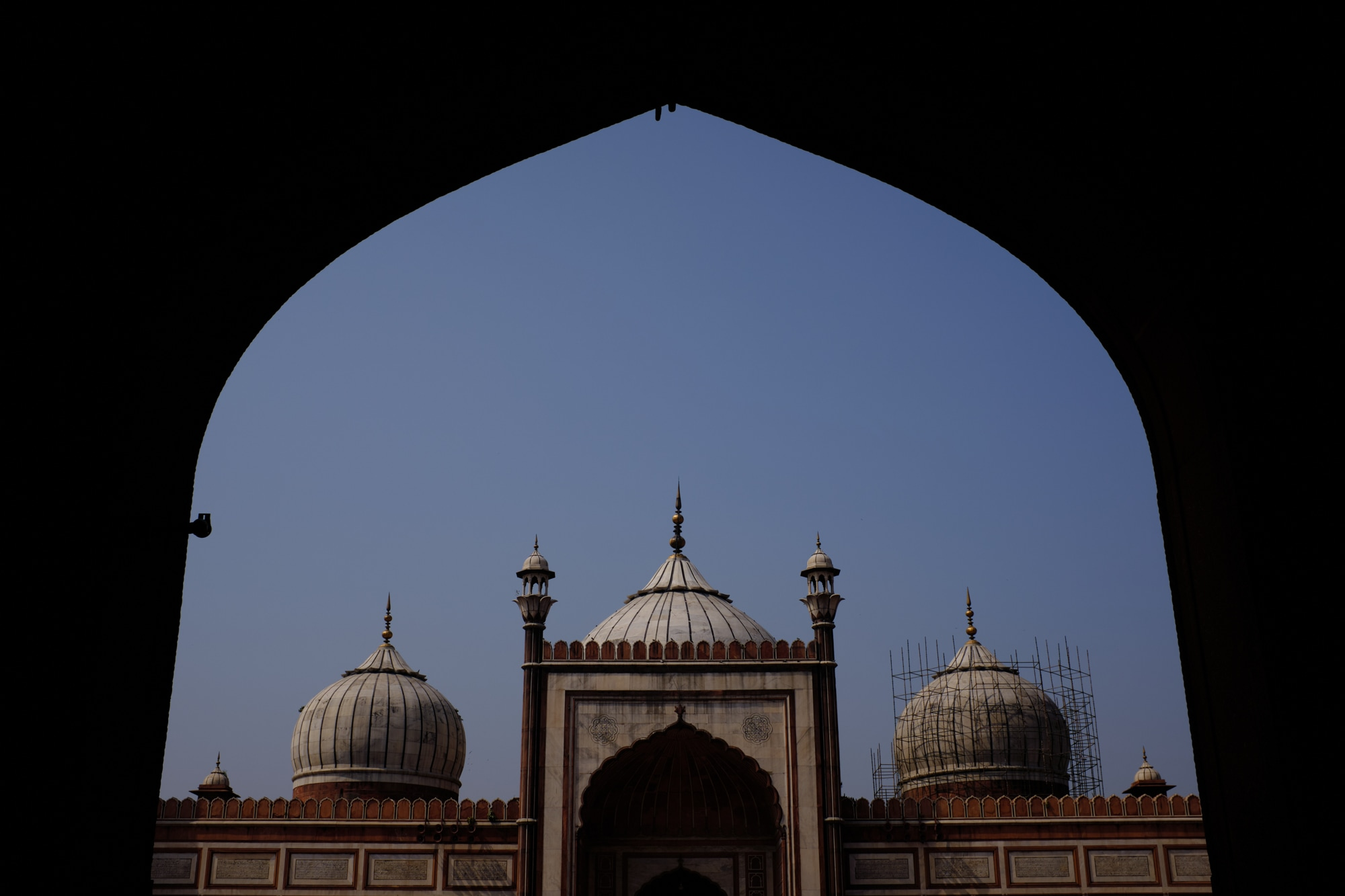 The Jama Mosque of Delhi