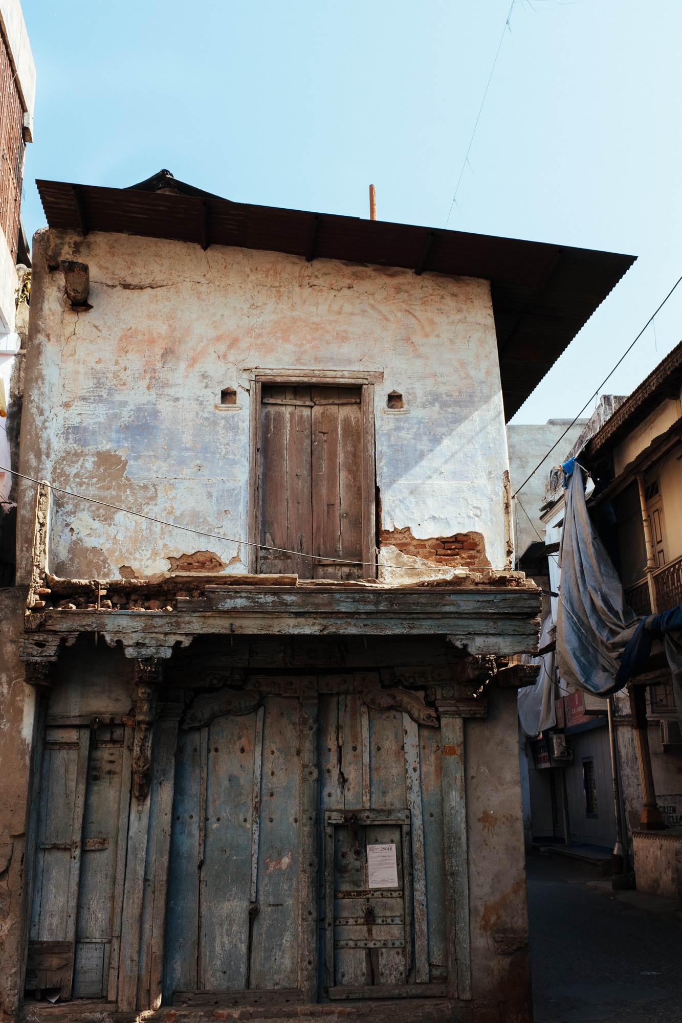 An old house in Ahmedabad.