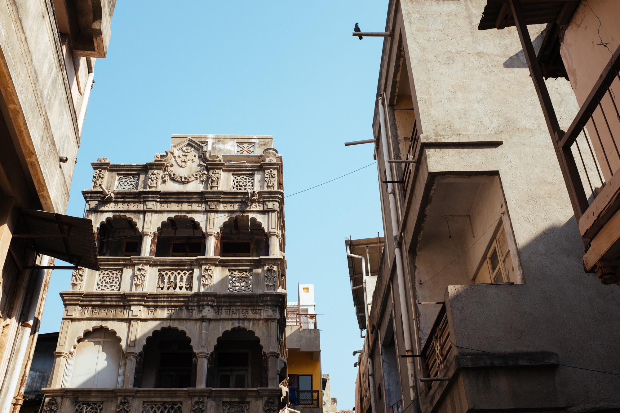 A heritage building in Ahmedabad.
