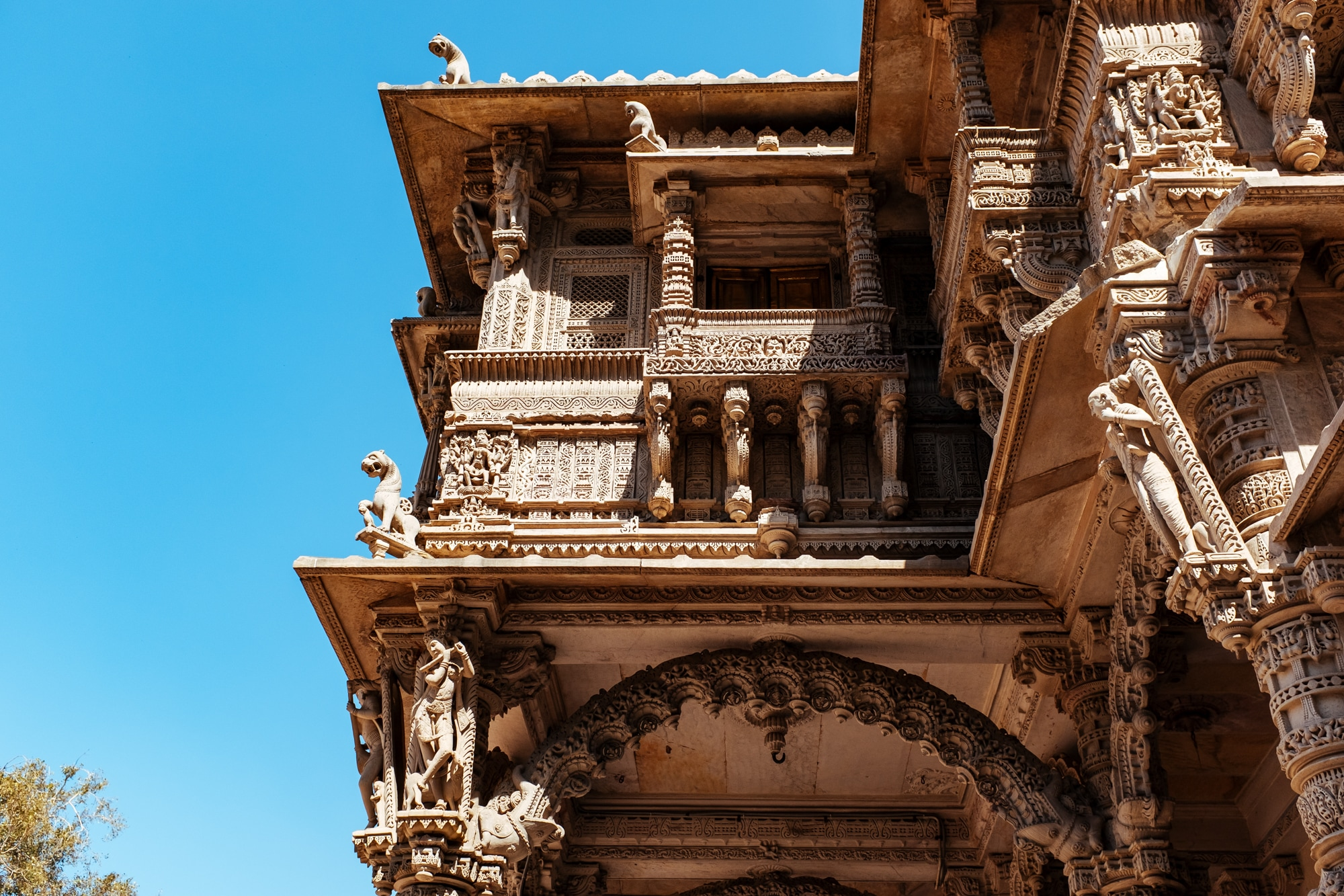 Carvings at Hutheesing Jain Temple - III
