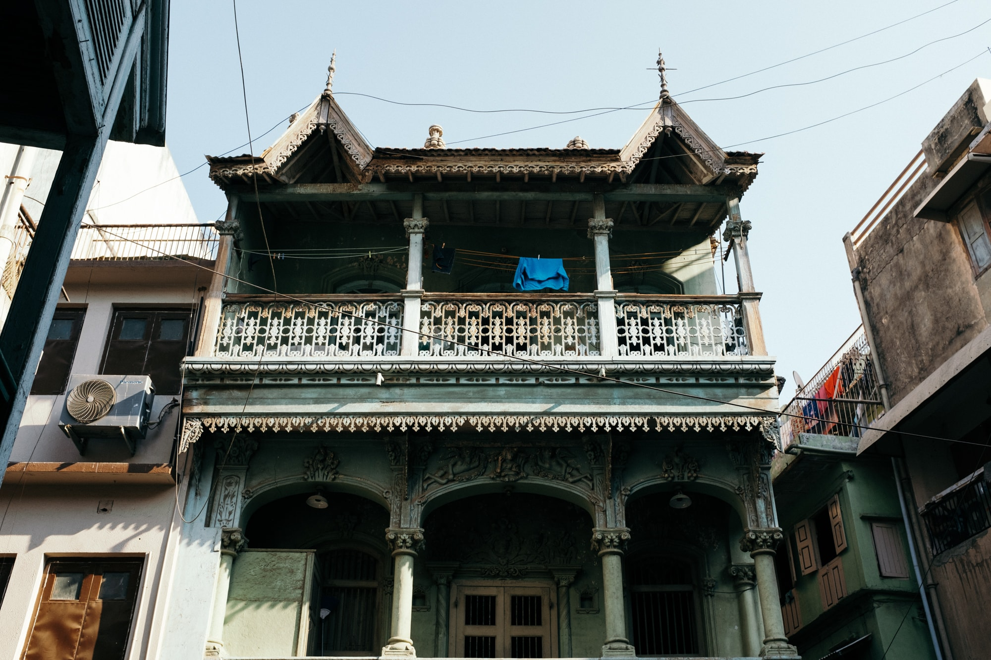 A heritage house in Ahmedabad