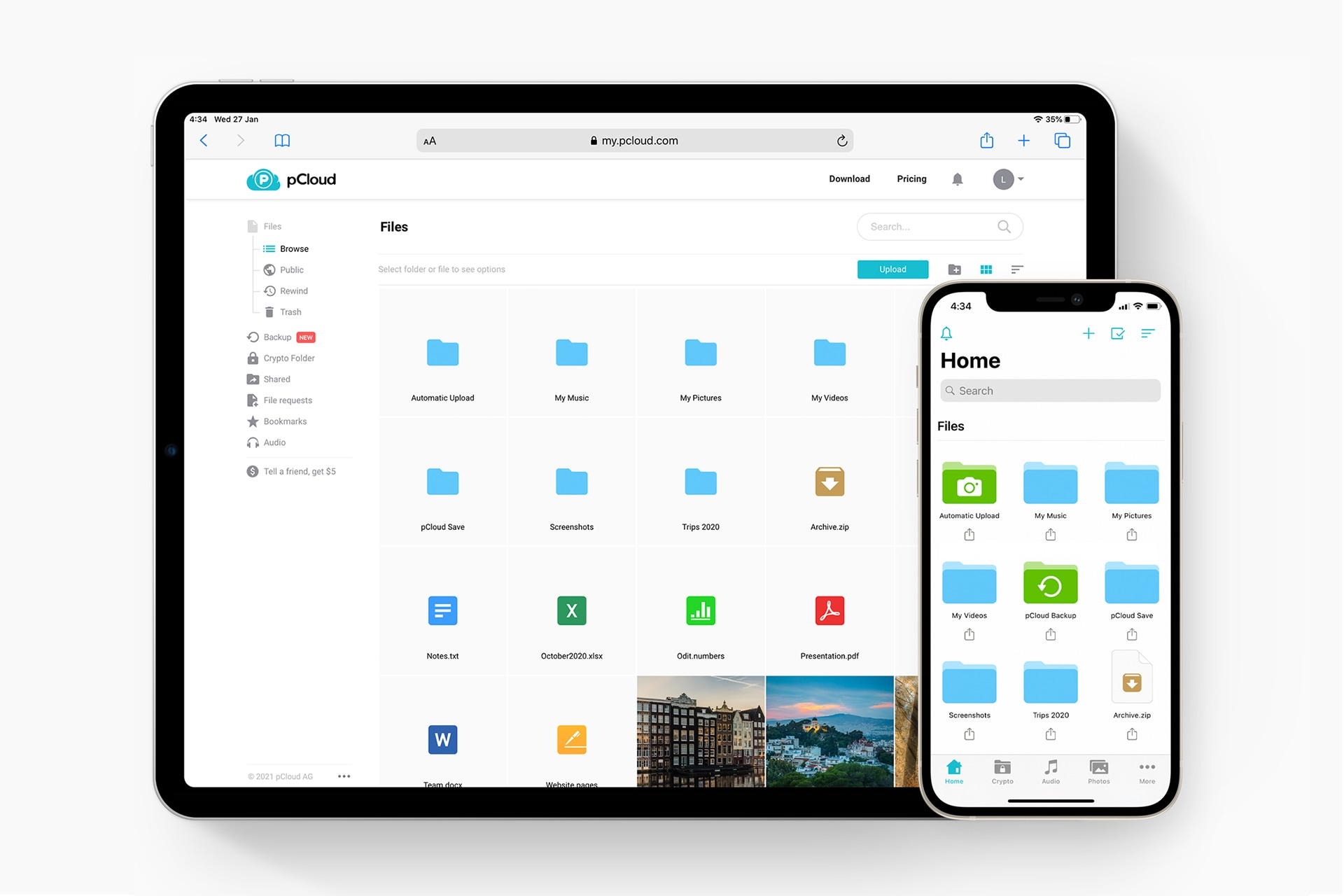 pCloud Is Probably the Best Cloud Storage for Photographers